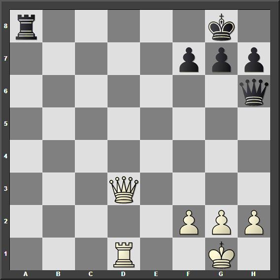 Бели игра и даје мат у два потеза