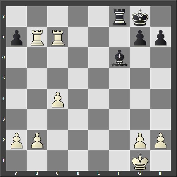 Црни игра и даје мат у два потеза